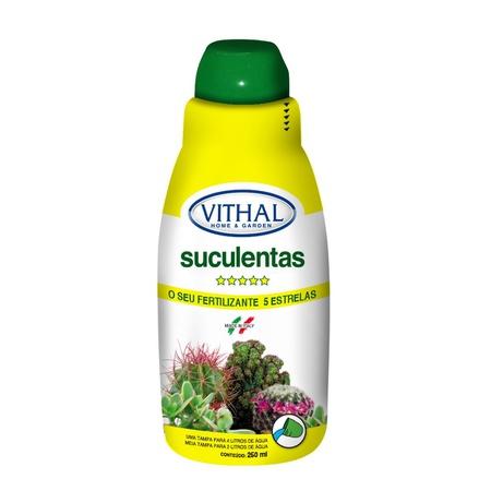 Fertilizante líquido para suculentas 250ml - Vitha... - AGROCAC