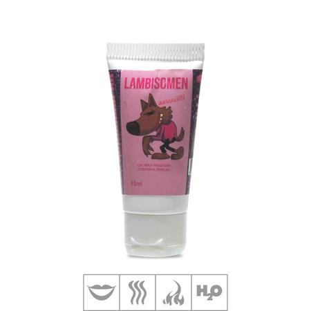Gel Para Sexo Oral Lambisomen 15ml - (17364) - Chocolate