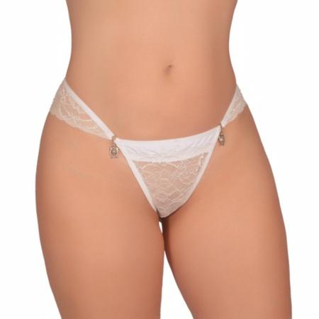 Calcinha Tassia Bij (CF613) - Branco