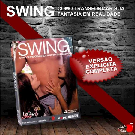 DVD Swing Como Transformar Sua Fantasia Em Realidade (LOV14-ST282) - Padrão
