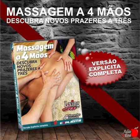 DVD Massagem A 4 Mãos (LOV18-ST282) - Padrão