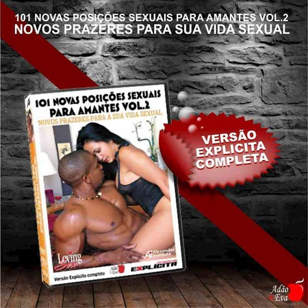 *DVD 101 Novas Posições Sexuais Para Amantes Vol 02 (LOV28-ST282) - Padrão