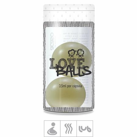 *Bolinha Aromatizada Love Balls 2un (ST103) - Kaiak