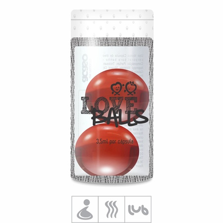 Bolinha Aromatizada Love Balls 2un (ST103) - Flower By Kenzo