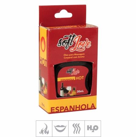 Gel Comestível Soft Love Hot 30ml ( ST116 ) - Espanhola