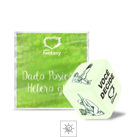 Dado Unitário Brilha No Escuro Sexy Fantasy (BR003-5013-16405) - Hétero