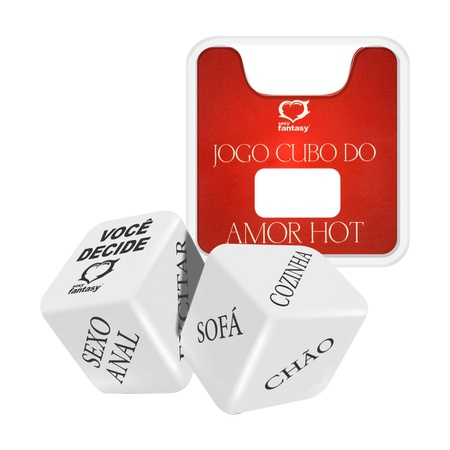 Dado Duplo Sexy Fantasy- (SF-ST332) - Cubos do Amor Hot
