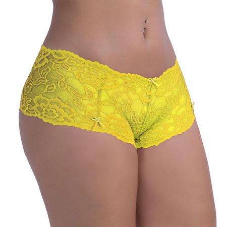 *Calcinha Calesson Obsessão ( OB004 ) - Amarelo