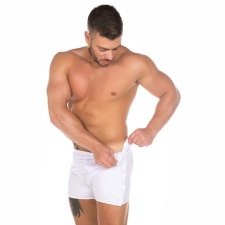 Cueca Striper (PS1119) - Branco