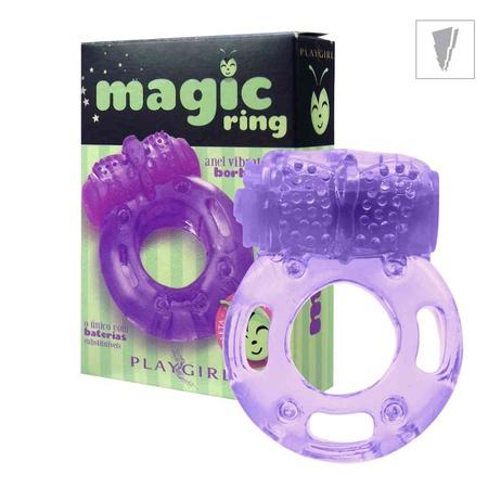 *Anel Peniano Magic Ring Com Vibro (ST343) - (EVA371) Borboleta