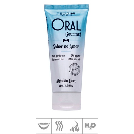 Gel Comestível Oral Gourmet Hot 45g (ST494) - Algodão Doce