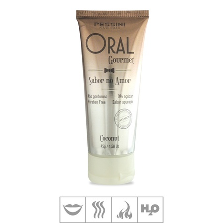 Gel Comestível Oral Gourmet Hot 45g (ST494) - Coconut