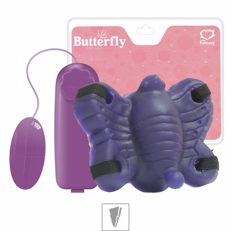 Butterfly Com Vibro Sexy Fantasy (PC034 - 14865) - Roxo