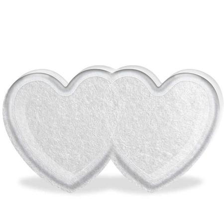 Embalagem de Coração Duplo Acrílico Para 5 Bolinhas (15001) - Padrão