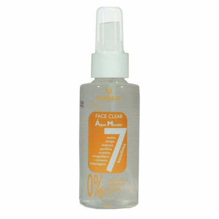 *Face Clear Água Micelar 7 Benefícios 125ml (17090) - Padrão