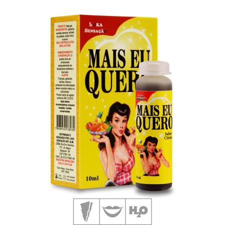 Gel Para Sexo Oral Mais Eu Quero 10ml (17380) - Cítrico