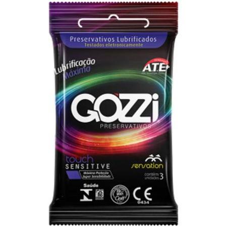 Preservativo Gozzi Sensation 3un Validade 02/22 (17566) - Padrão