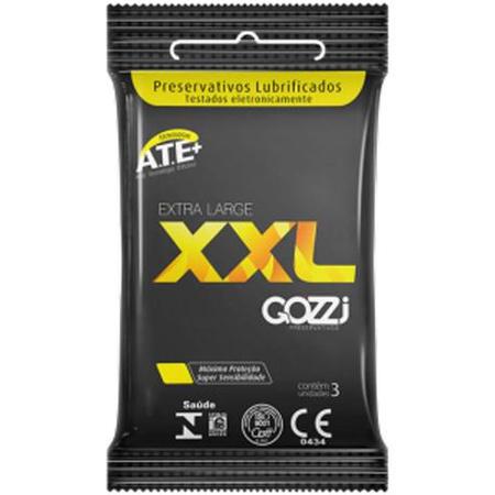 Preservativo Gozzi XXL 3un Validade 02/22 (17567) - Padrão