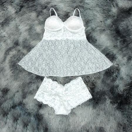 *Camisola Belíssima (DM170) - Branco