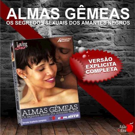 DVD Almas Gêmeas Os Segredos Sexuais Dos Amantes (LOV13-ST282) - Padrão