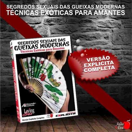 DVD Segredos Sexuais Das Gueixas Modernas (LOV20 - ST282) - Padrão
