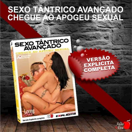DVD Sexo Tântrico Avançado Chegue Ao Apogeu Sexual (LOV31-ST282) - Padrão