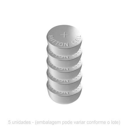 Bateria AG13/LR44/357/SR44 /A76/L1154 - 5un (13345-ST271) - Padrão