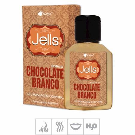 Gel Comestível Jells Hot 30ml (ST106) - Chocolate Branco