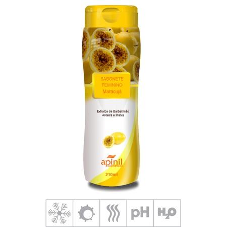 Sabonete Feminino Íntimo Apinil 210ml (ST183) - Maracujá