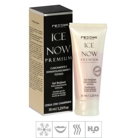 Gel Comestível Ice Now Premium 35ml (ST493) - Cereja com Champanhe