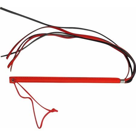 Chicote Fino Com Franja Brasil Fetiche 35cm (CFV28-ST567) - Vermelho
