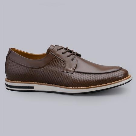 Sapato Casual Masculino Nevano Harry - Café - NEVANO
