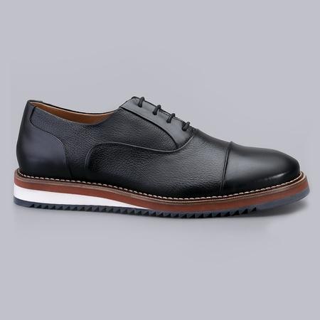 Sapato Casual Masculino Nevano Iggy - Preto - NEVANO