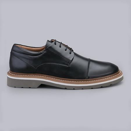 Sapato Casual Masculino Nevano Istambul - Preto - NEVANO