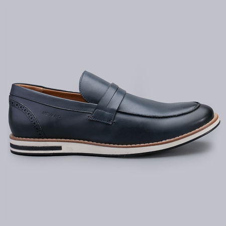 Sapato Casual Masculino Nevano Lionel - Marinho - NEVANO