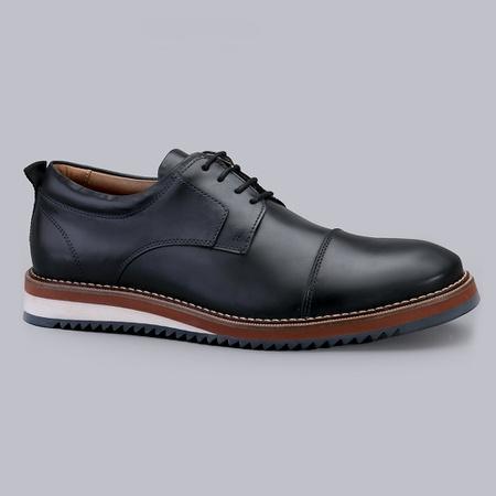 Sapato Casual Masculino Nevano Lyon - Marinho - NEVANO