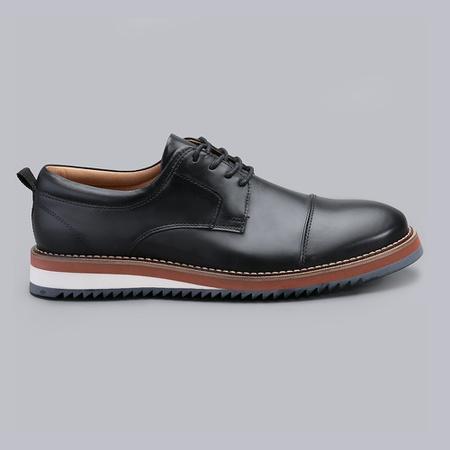 Sapato Casual Masculino Nevano Lyon - Preto - NEVANO