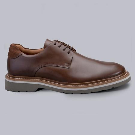 Sapato Casual Masculino Nevano Barry - Moss/Nescau - NEVANO