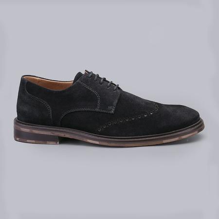 Sapato Casual Masculino Nevano Tim - Preto - NEVANO