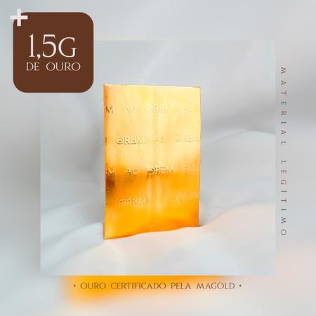 1,5 Gramas adicionais de Ouro 18 Kilates - Rosê