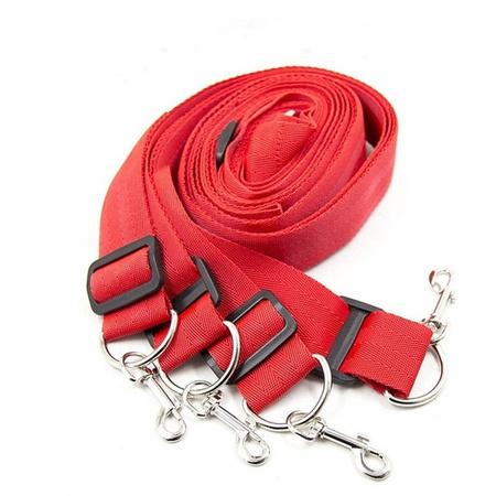 Algema Distanciadoras Para Pulso e Tornozelo Bondage Kits (5880-5882) - Vermelho