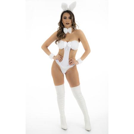 Fantasia Coelha Paty (ps4369) - Branco