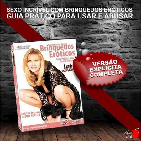 DVD Sexo Incrível Com Brinquedos Eróticos (LOV04-ST282) - Padrão