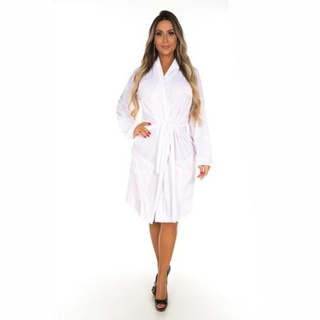 Robe Veludo (PS8357) - Branco