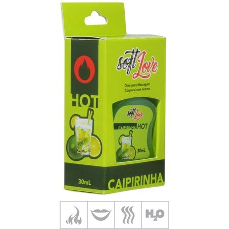 **Gel Comestível Soft Love Hot 30ml (ST116) - Caipirinha