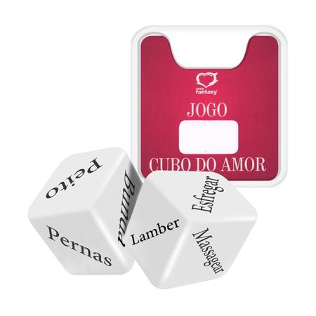 Dado Duplo Sexy Fantasy (SF-ST332) - Cubos do Amor Trad.