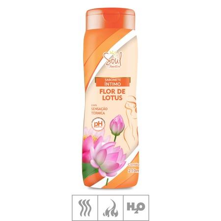 Sabonete Íntimo Feminino Térmico Soul Cosm.210ml (ST659) - Flor de Lotus