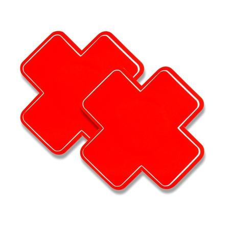 Tapa Mamilo Em x 50 Tons (to0014-st661) - Vermelho