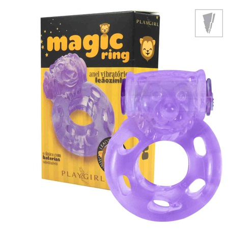 Anel Peniano Magic Ring Com Vibro (ST343) - (EVA252) Leãozinho