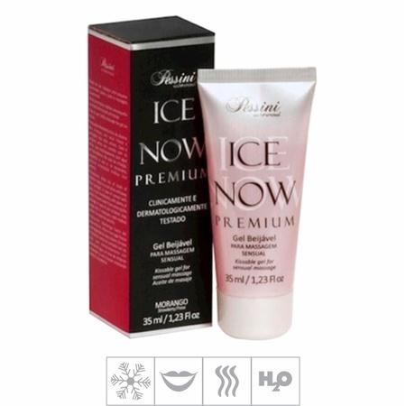 Gel Comestível Ice Now Premium 35ml (ST493) - Morango